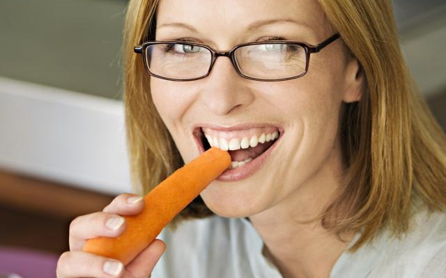 Be like the Easter Bunny and munch on carrots for vision health